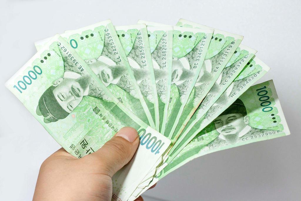 деньги корейцев